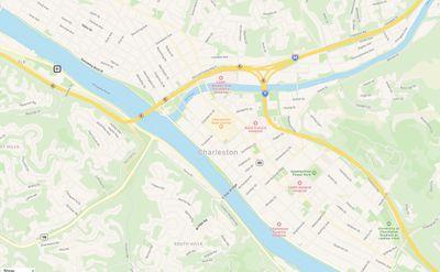 revamped apple maps west virginia