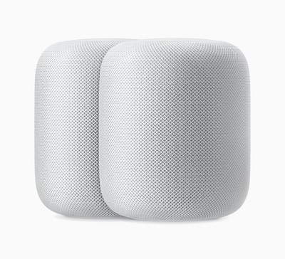 Apple HomePod pair white