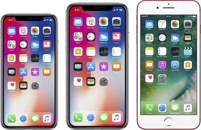iphone x plus lcd trio