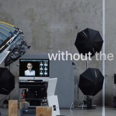 iphone x portraits ad