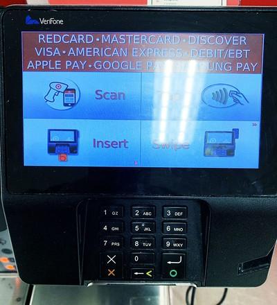 target apple pay pos