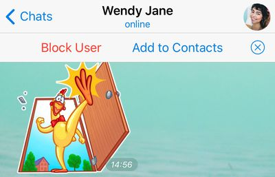 telegram add to contacts