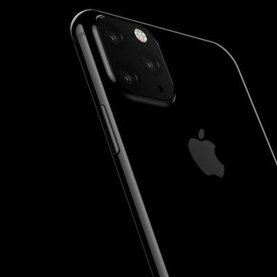 2019 iphone triple camera rendering
