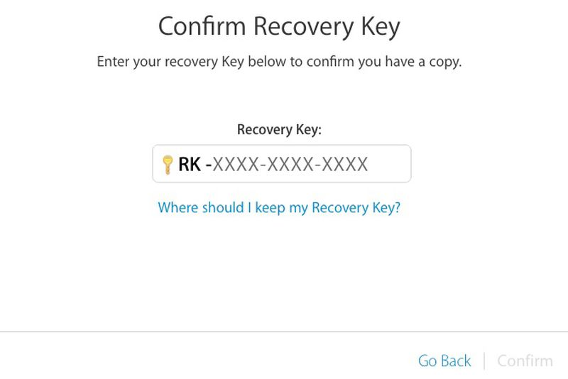 Apple-ID-confirm-recovery-key