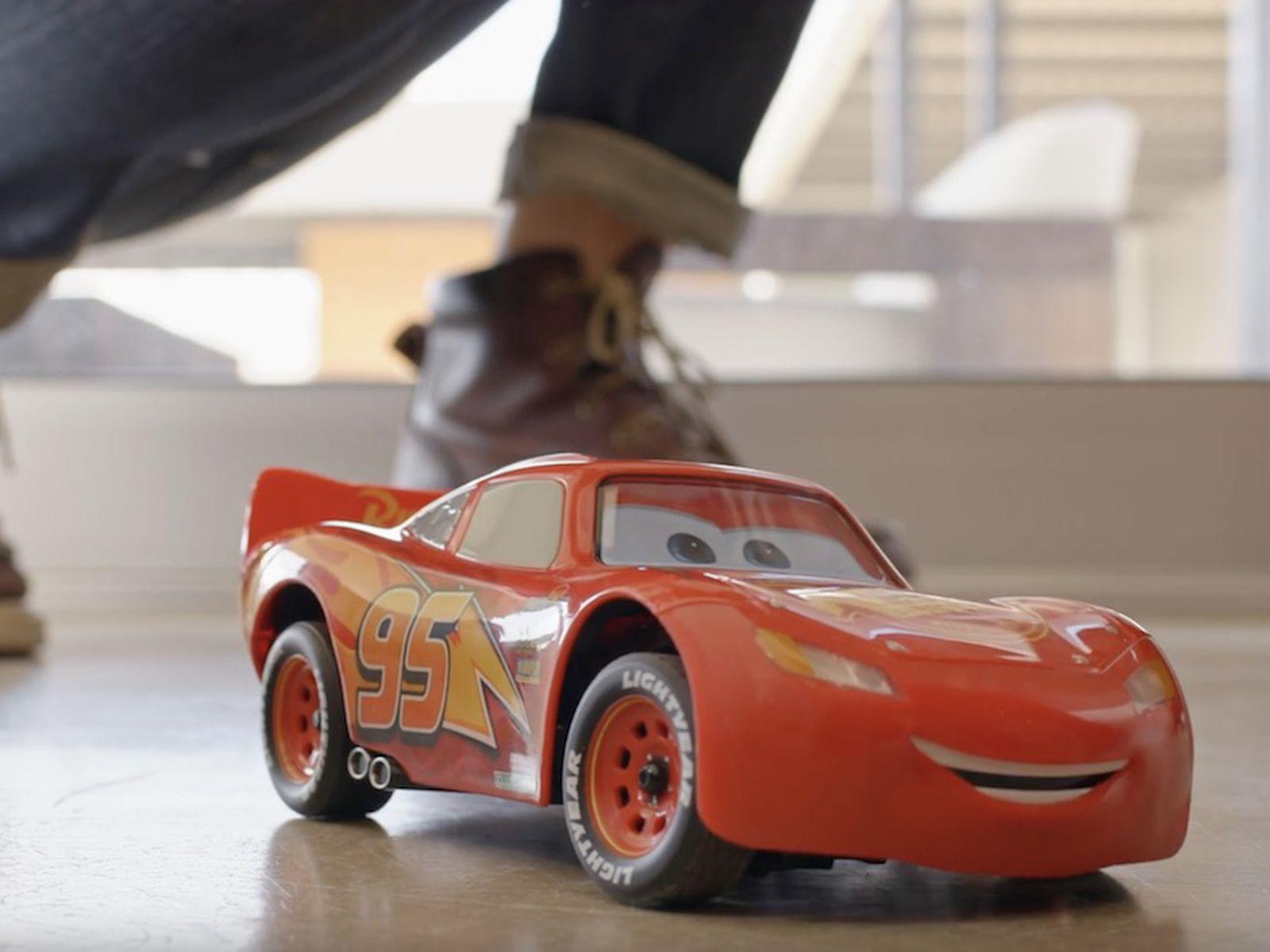 sphero launches 300 iphone controlled lightning mcqueen from disney pixar s cars macrumors iphone controlled lightning mcqueen