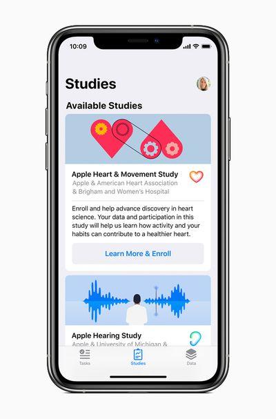 apple heart movement study