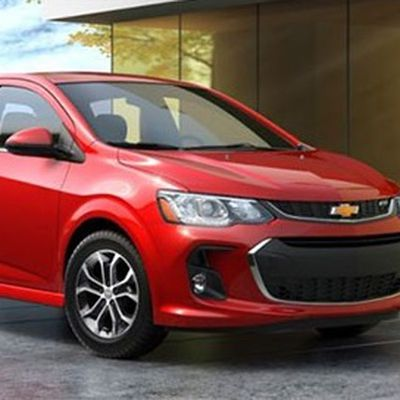 CarPlay Chevy Sonic Trax 2017