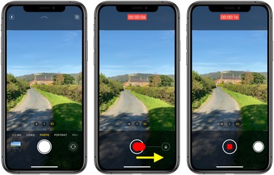 how to shoot video using quicktake iphone 11 - iOS 14 Photographs and Digicam: QuickTake Shortcut, Photograph Captions, Mirrored Selfies, and Extra