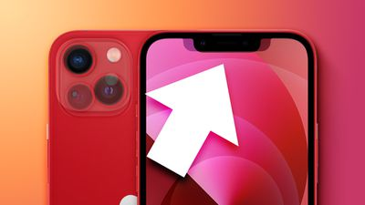 iPhone 13 vs iPhone 12 notch comparsion zoomed