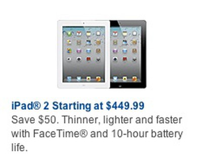 ipad 2 best buy 50 off