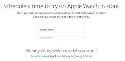 Apple Watch Try-on Web