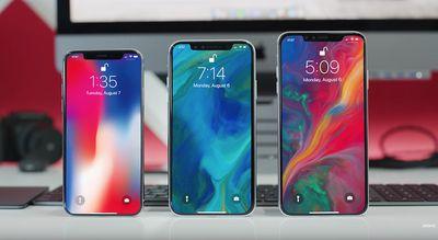 2018 iphones trio mockups
