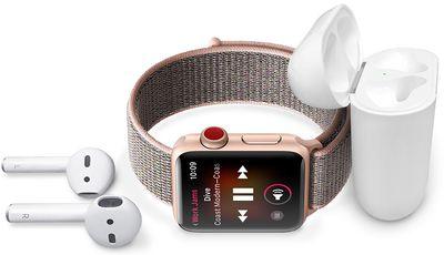 apple watch apple music streaming