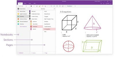 Redesigning OneNote 1
