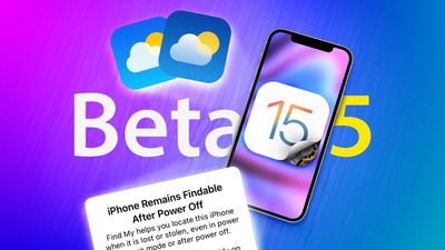 iOS 15 beta 5 Thumbnail