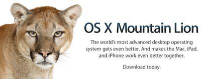 os x mountain lion banner