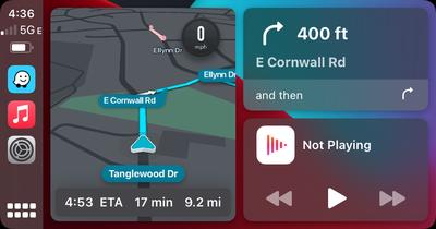 Waze Carplay Interface