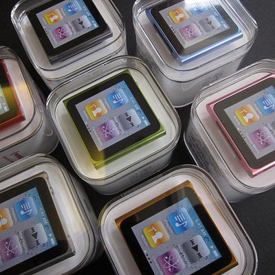 104709 6gen ipod nano unbox colors