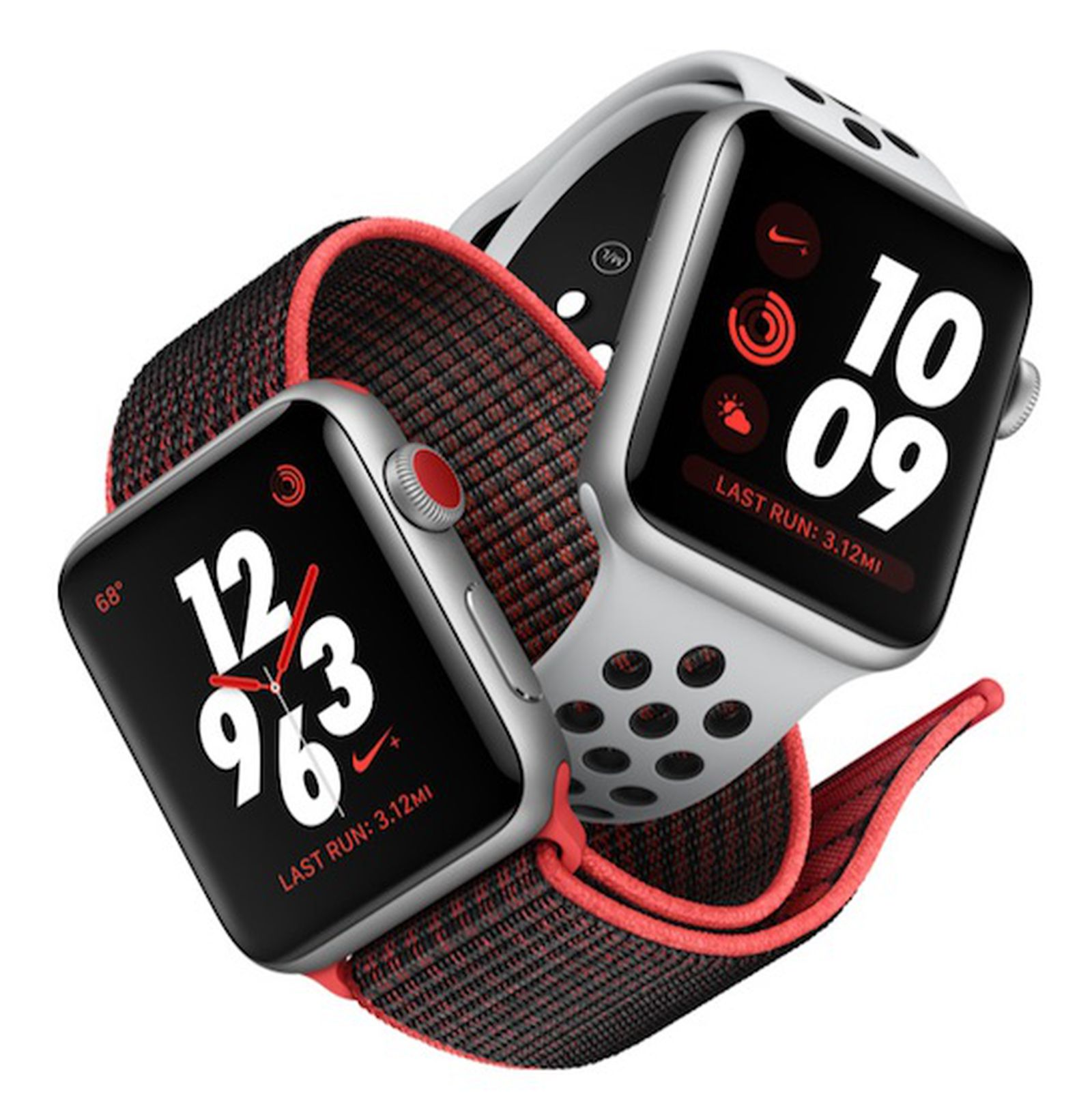 Tendencia Dos grados halcón  Apple Watch Series 3's Nike+ Models Have Slightly Later October 5 Launch  Date - MacRumors