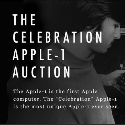 apple1celebrationauctioncharitybuzz