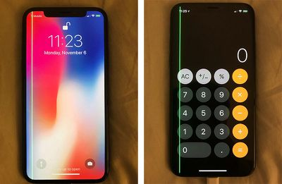 iphone x green line duo