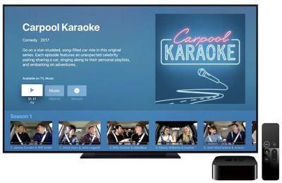 carpool karaoke in tv
