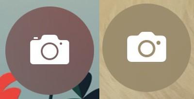 icona della schermata di blocco della fotocamera iOS 15