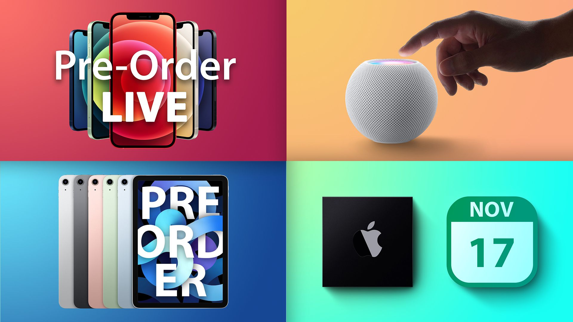 photo of Top Stories: iPhone 12, HomePod Mini, MagSafe Accessories, and More image