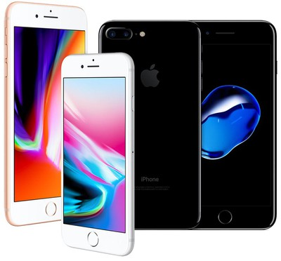 iphone 7 plus vs iphone 8 plus duo