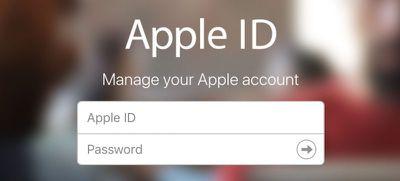 apple passwords id login