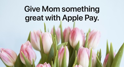 apple pay promo mothers day