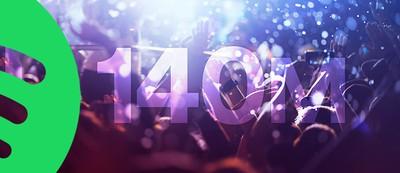 spotify 140 million