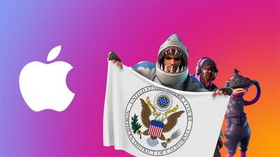 fortnite apple logo US DC NorCal fonction