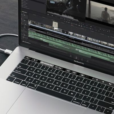 DaVinciResolve TouchBar New Macbook Pro