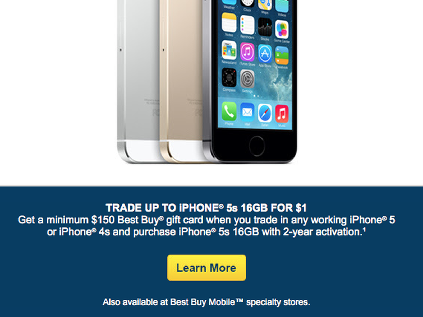 Best Buy Offering Free 16gb Iphone 5s With Trade In Of Iphone 4s Or 5 Macrumors