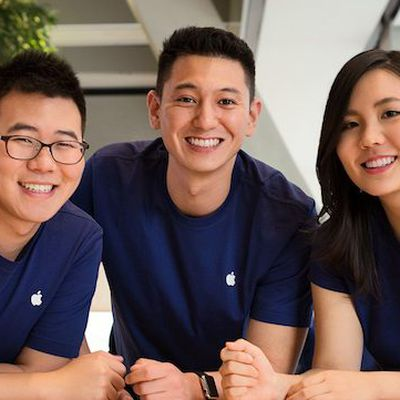 apple employees trio