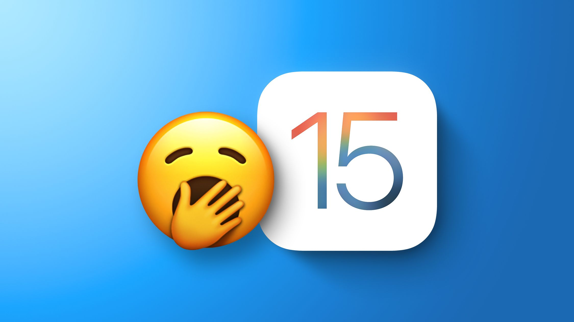 Users Underwhelmed by iOS 15 and iPadOS 15, Survey Suggests - MacRumors