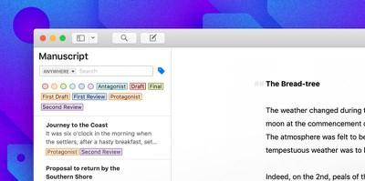 ulysses Mac Keyword Filtering