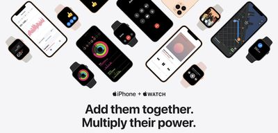 apple watch iphone minisite