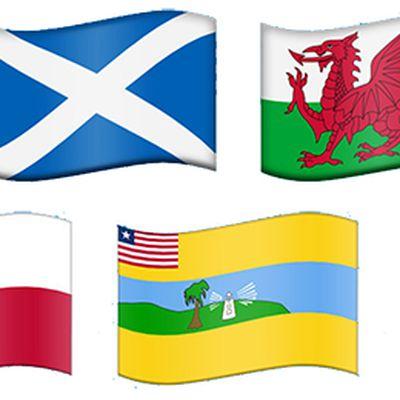 regional emoji flags