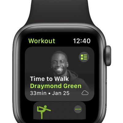 apple time to walk draymond green