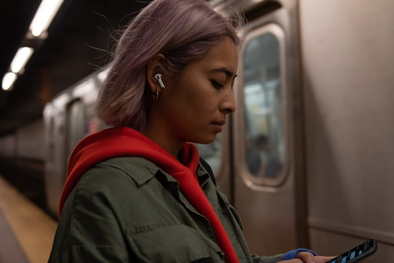 AirPods Pro lifestyle apple