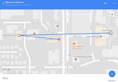 maps distance