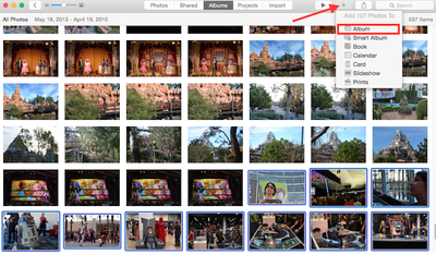 How to add and organize photos for os x 3