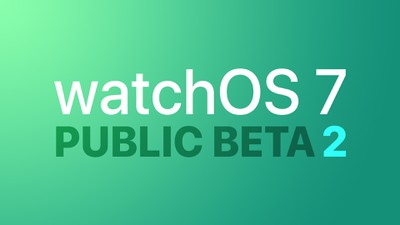 watchOS public beta 2 Feature