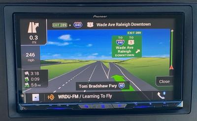 pioneer carplay nav guidance