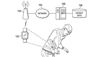 apple patent sensors parkinsons symptoms