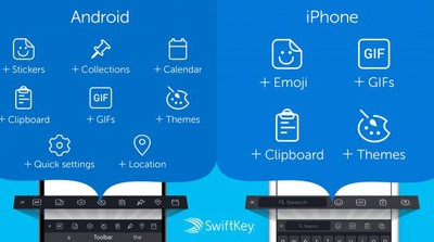 swiftkey toolbar