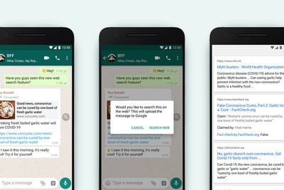 whatsapp fact check forwarded messages