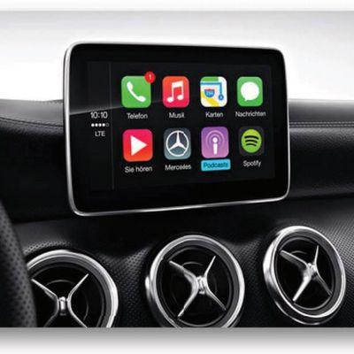 Mercedes Benz CarPlay 2016